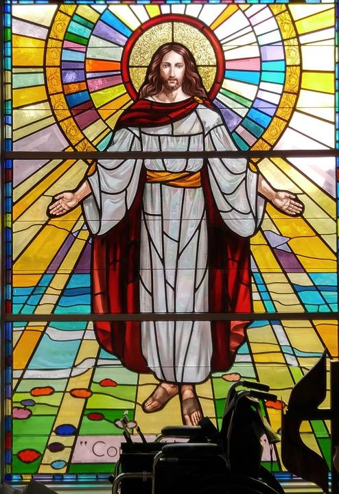 tranh kính nhà thờ 02