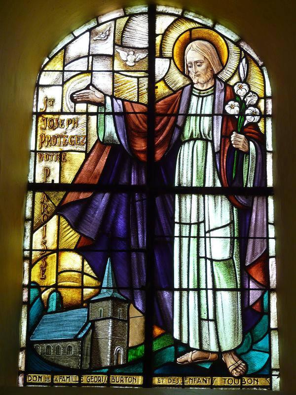tranh kính nhà thờ 03